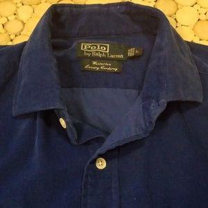Ralph Lauren Shirts - Ralph Lauren Westerton Luxury Corduroy shirt